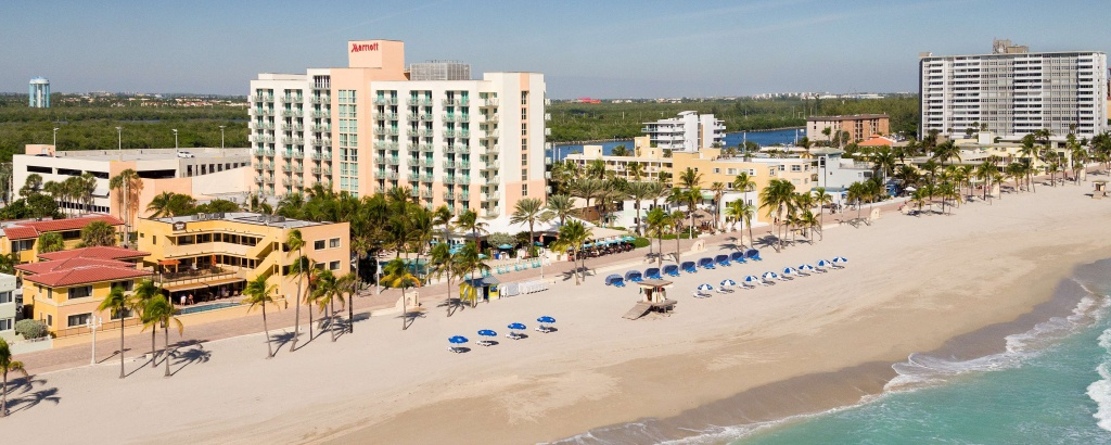 Hotel In Hollywood, Fl | Hollywood Beach Marriott - Map Of Hotels In Hollywood Florida