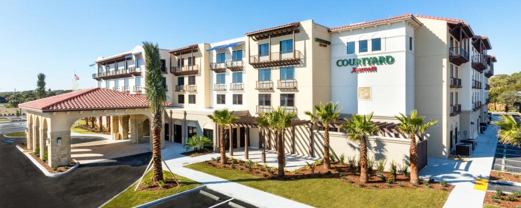 Hotels In St. Augustine, Fl | Courtyard St. Augustine Beach - Map Of Hotels In St Augustine Florida