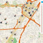 Houston Printable Tourist Map | Homeschooling & Unschooling   Downtown Houston Map Printable