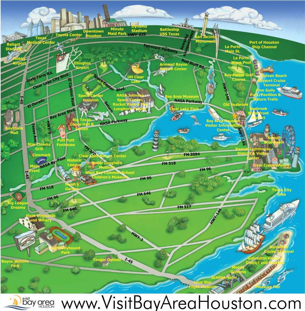 Houston Sightseeing Attractions - Golden Warriors Tickets - Texas Sightseeing Map