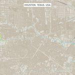 Houston Texas Us City Street Map Digital Artfrank Ramspott   Street Map Of Houston Texas