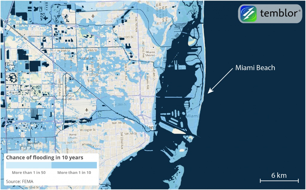 How Hurricane Irma Could Be So Destructive To Florida | Temblor - Florida Flood Map