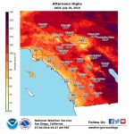 How Long Will Heat Wave Linger Over Southern California? – Orange   Weather Heat Map California