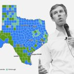 How Texas Counties Voted For Beto O'rourke, And More Primary Results   Map Beto For Texas