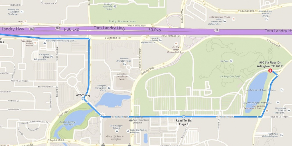 How To Avoid Construction Getting To The Park | Six Flags Over Texas - Six Flags Over Texas Map App