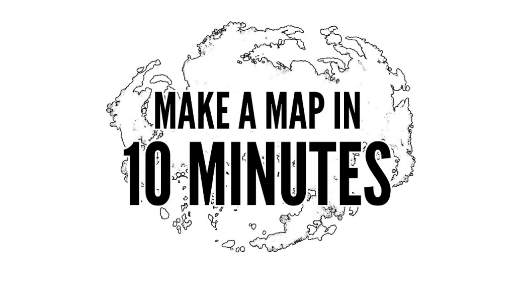 How To Easily Make A Map In 10 Minutes With Photoshop - Youtube - How To Create A Printable Map