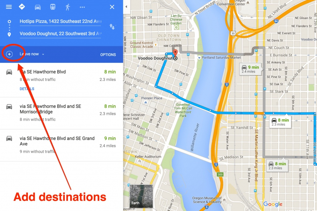 How To Get Driving Directions And More From Google Maps - Free Printable Maps And Directions