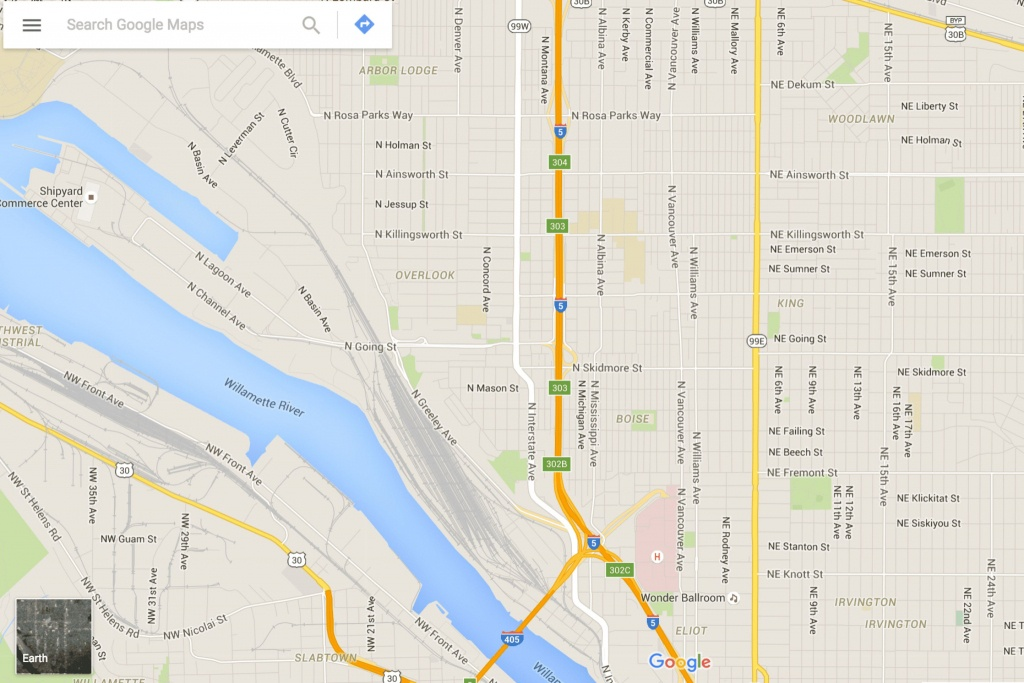 How To Get Driving Directions And More From Google Maps - Free Printable Maps Driving Directions