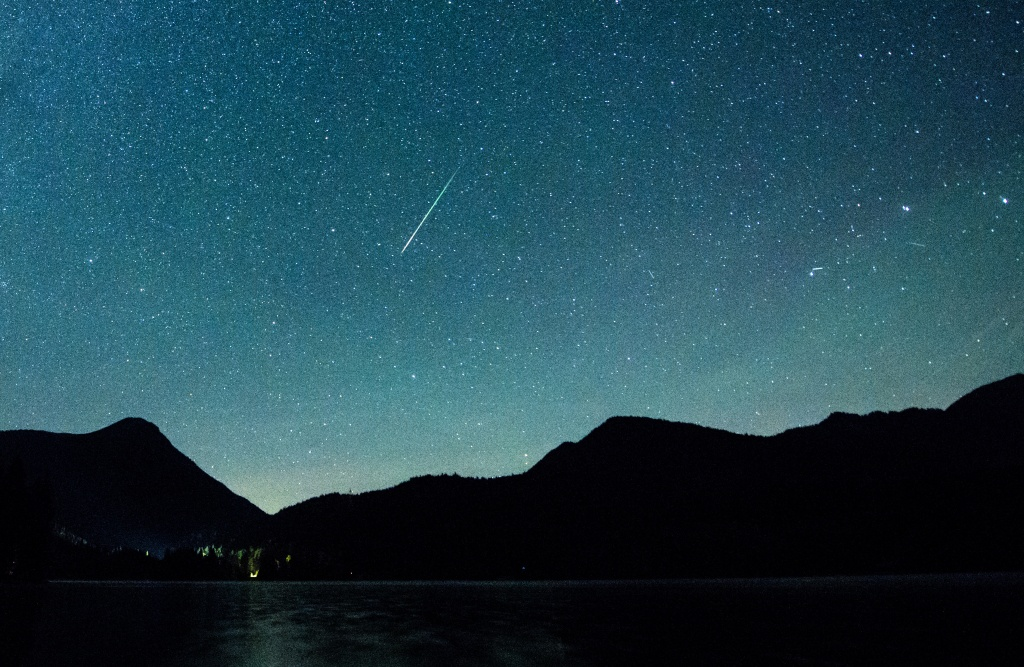 How To Watch The Eta Aquariid Meteor Shower This Weekend | Time - Southern California Night Sky Map