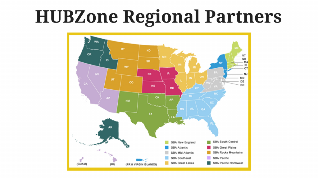 Hubzone Resourcesregion - Hubzone Map Texas