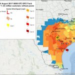 Hurricane Harvey Power Outages |Vehicle To Grid Uk   Power Outage Map Texas