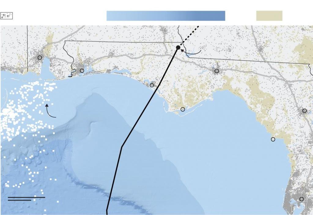 Hurricane Michael Pummels The Florida Panhandle - Wsj - Map Of Florida Panhandle Hotels