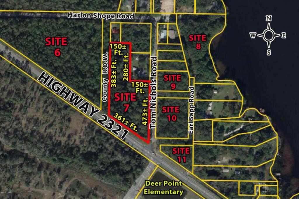 Hwy 2321, Panama City, Fl.| Mls# 667667 | Ann Jones | Florida - Jackson County Florida Parcel Maps