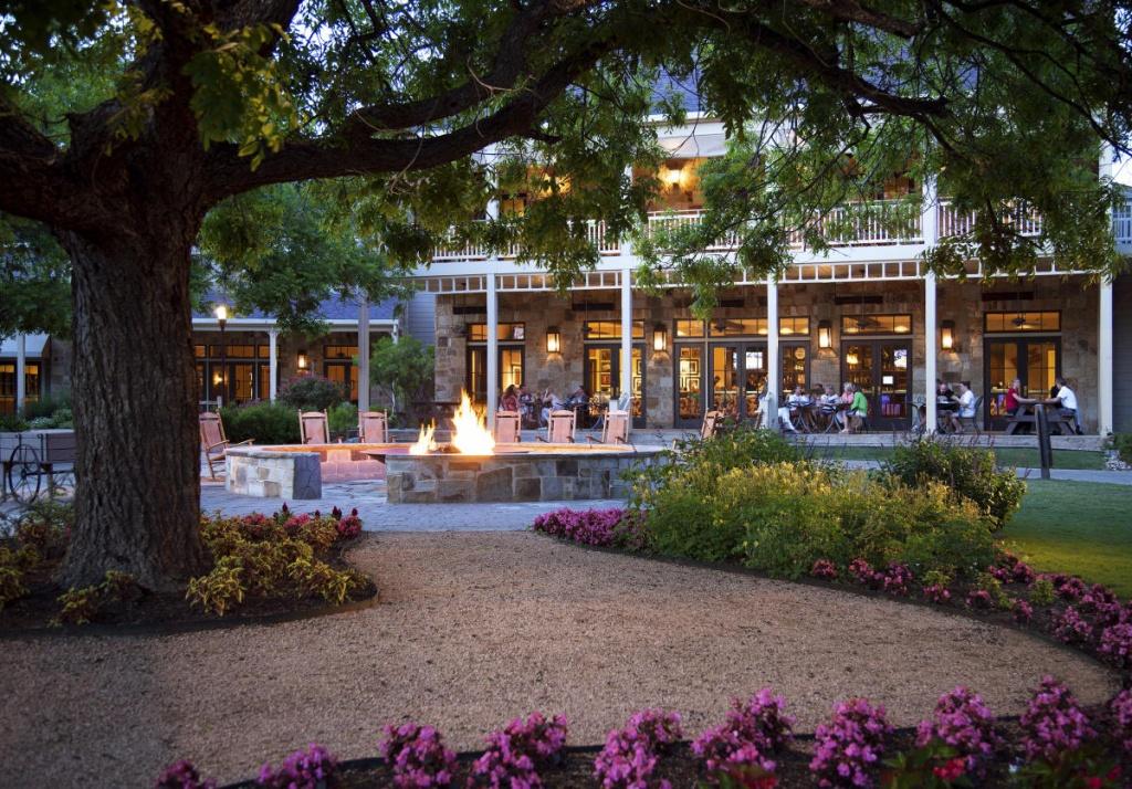 Hyatt Lost Pines Resort & Spa - Lost Pines Texas Map