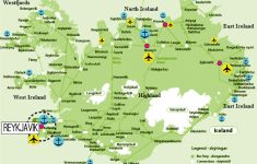Printable Road Map Of Iceland