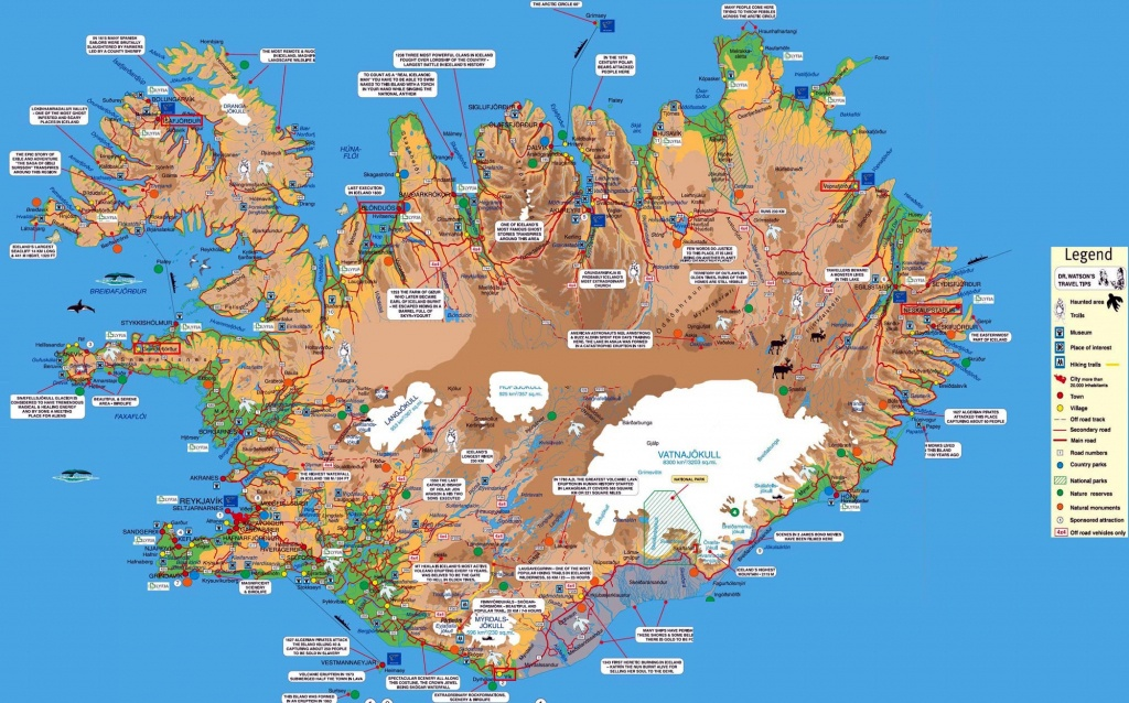 Iceland Maps | Printable Maps Of Iceland For Download - Printable Road Map Of Iceland