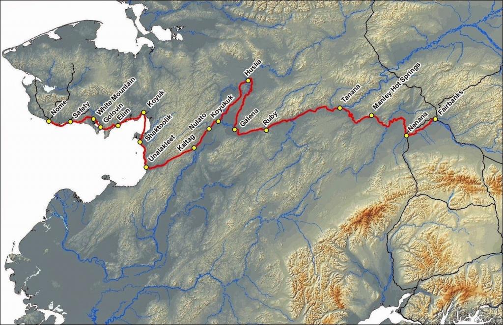 Iditarod Trail Map 2015   Iditarod 2015   Alaska, Trail Maps, Snow - Printable Iditarod Trail Map
