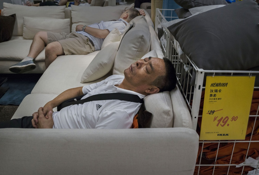 Ikea Denies Ban On Customers Sleeping In China Stores | Time - Ikea Locations California Map