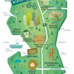 Illustrated Maps Of Atlanta, Ga, Austin, Tx, And Seattle, Wa For The   Texas Rut Map 2017