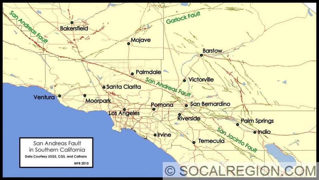 Image Result For Farallon Plate California | First Board | San,reas - Map Of The San Andreas Fault In Southern California