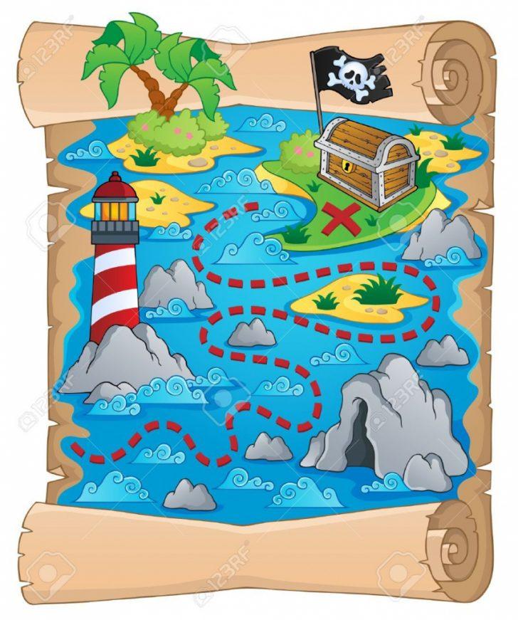 Printable Kids Pirate Treasure Map
