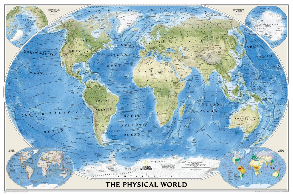 Image Result For Geographical Map World | Travel The World - National Geographic Printable Maps