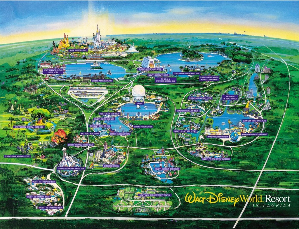 Images Of Disneyworld Map | Disney World Map See Map Details From - Map Of Disney Florida Hotels