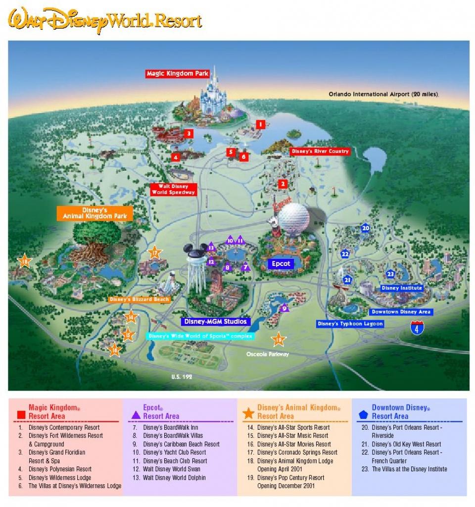 Images Of Disneyworld Map   Map Of Disney World Parks   A Traveling - Disney World Florida Theme Park Maps