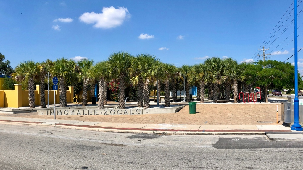 Immokalee, Florida - Wikipedia - Immokalee Florida Map