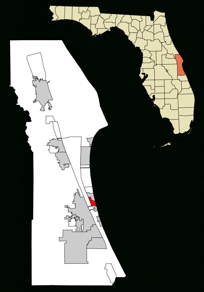 Indian Harbour Beach, Florida - Wikipedia - Indian Harbour Beach Florida Map