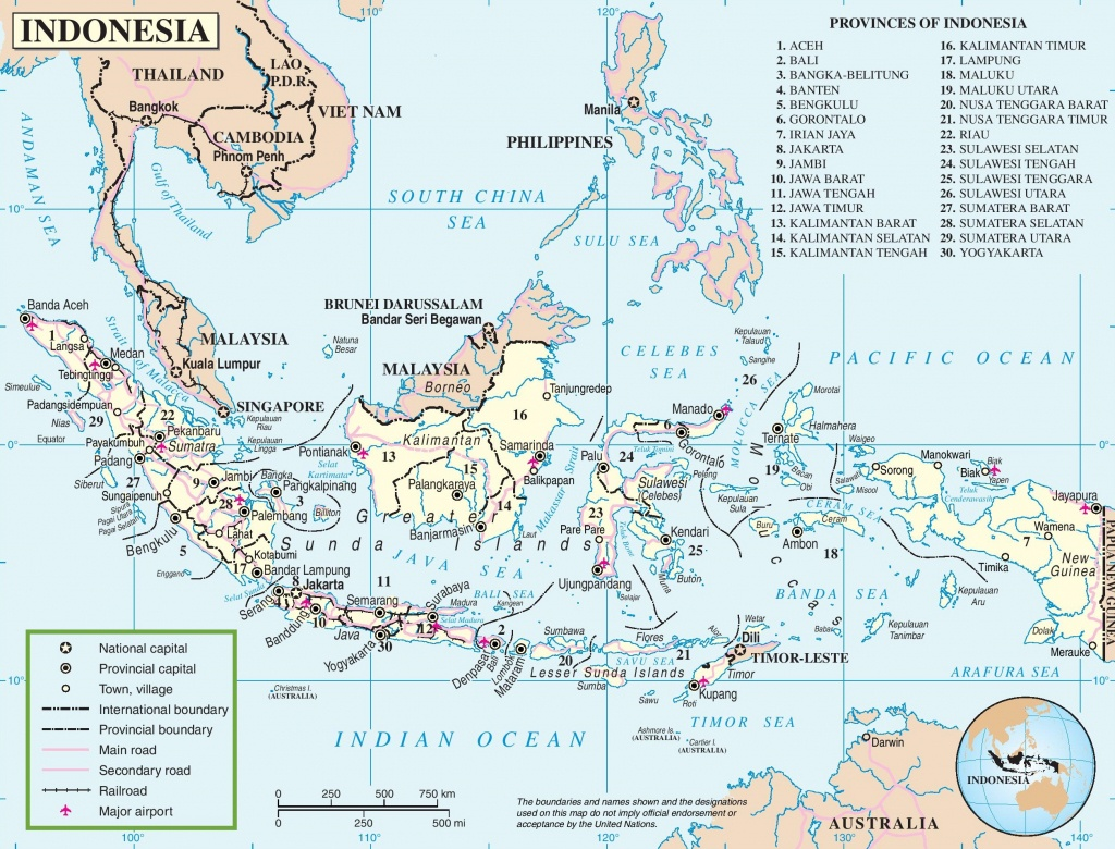 Indonesia Maps   Maps Of Indonesia - Printable Map Of Indonesia