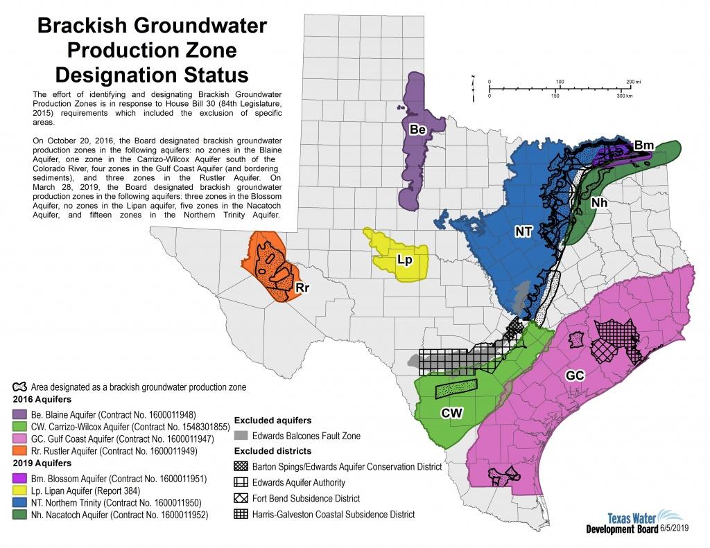 Innovative Water Technologies - Brackish Groundwater Production - Texas Water Development Board Well Map