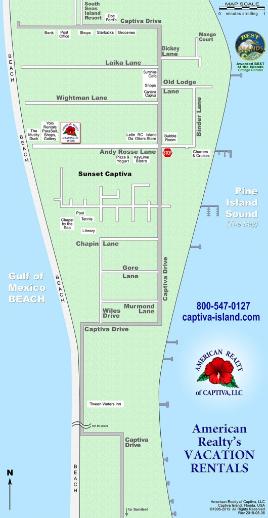 Interactive Map: Captiva, Florida (Amrc) - Christmas Florida Map