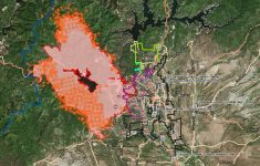 Interactive Maps: Carr Fire Activity, Structures And Repopulation – Interactive Map Of California Fires