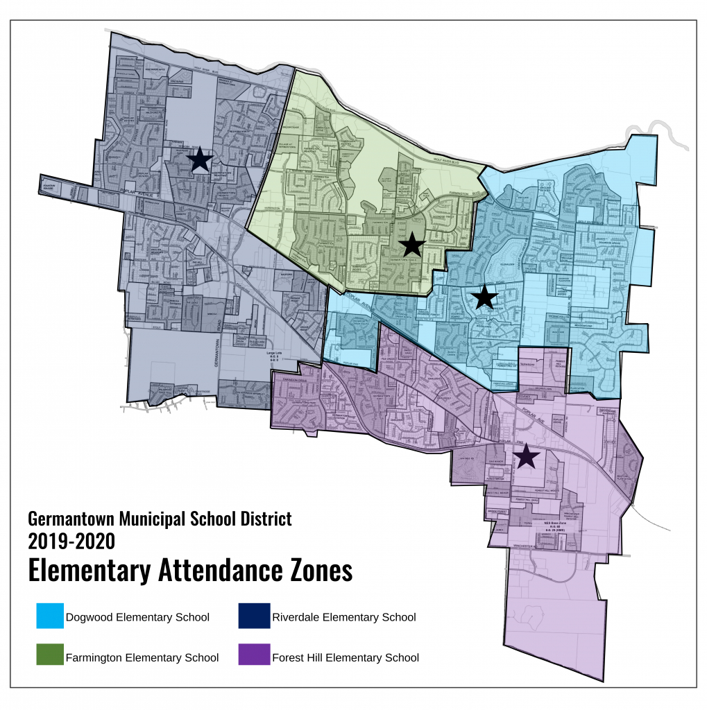 Interactive Zoning Map - Printable Maps For School