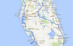 Florida Road Trip Map