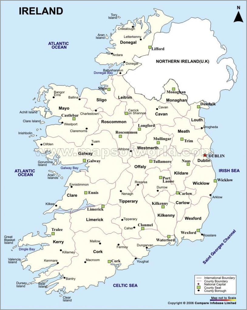 Ireland Maps   Printable Maps Of Ireland For Download - Printable Map Of Ireland