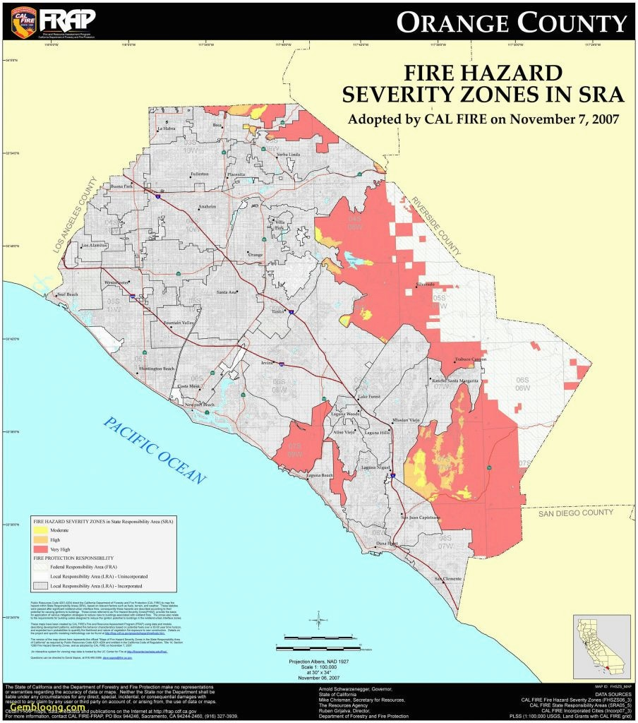 Irvine California Zip Code Map California Map San Francisco - Irvine California Map