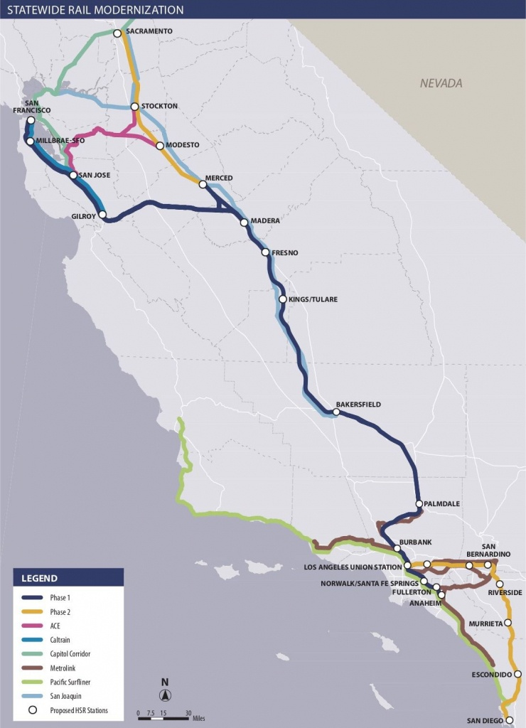 Is California High-Speed Rail Still Happening? - Curbed - California High Speed Rail Project Map