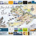 Isle Of Mull & Mull And Iona Maps 2019 | The Oban Times   Printable Map Of Mull