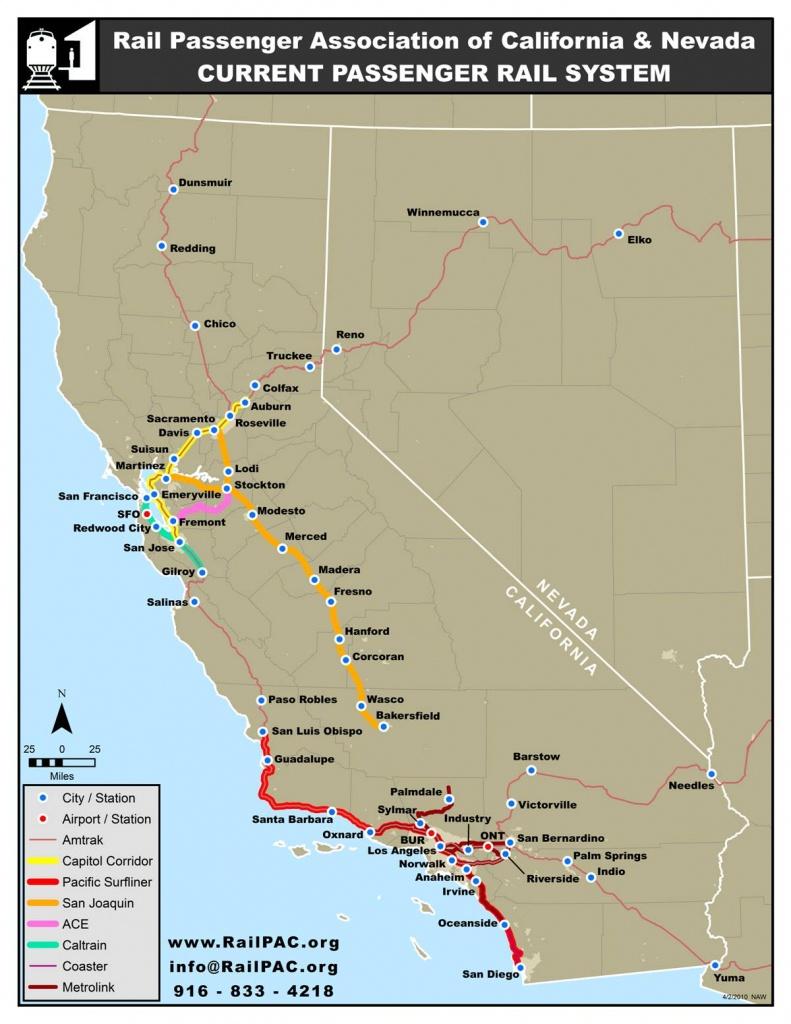 Issues – Railpac - Southern California Train Map