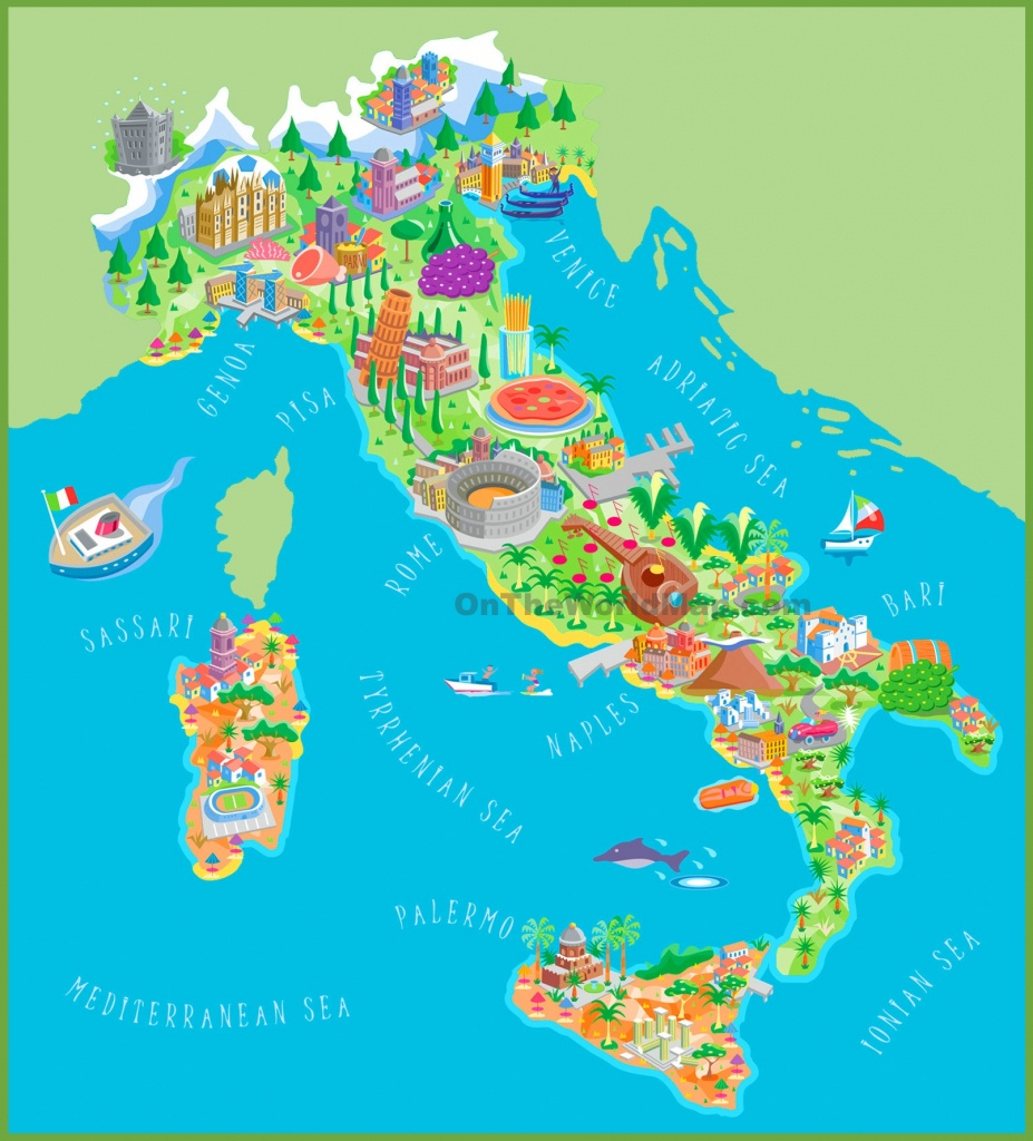 Italy Maps | Maps Of Italy - Free Printable Map Of Italy