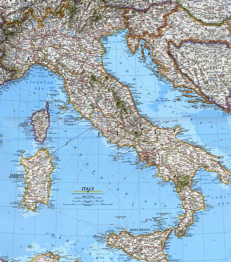 Italy Maps | Printable Maps Of Italy For Download - Large Map Of Italy Printable