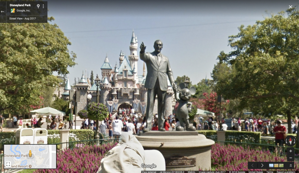 It's Street View After All: Disney Parks Come To Google Maps - Google Maps Orlando Florida Street View