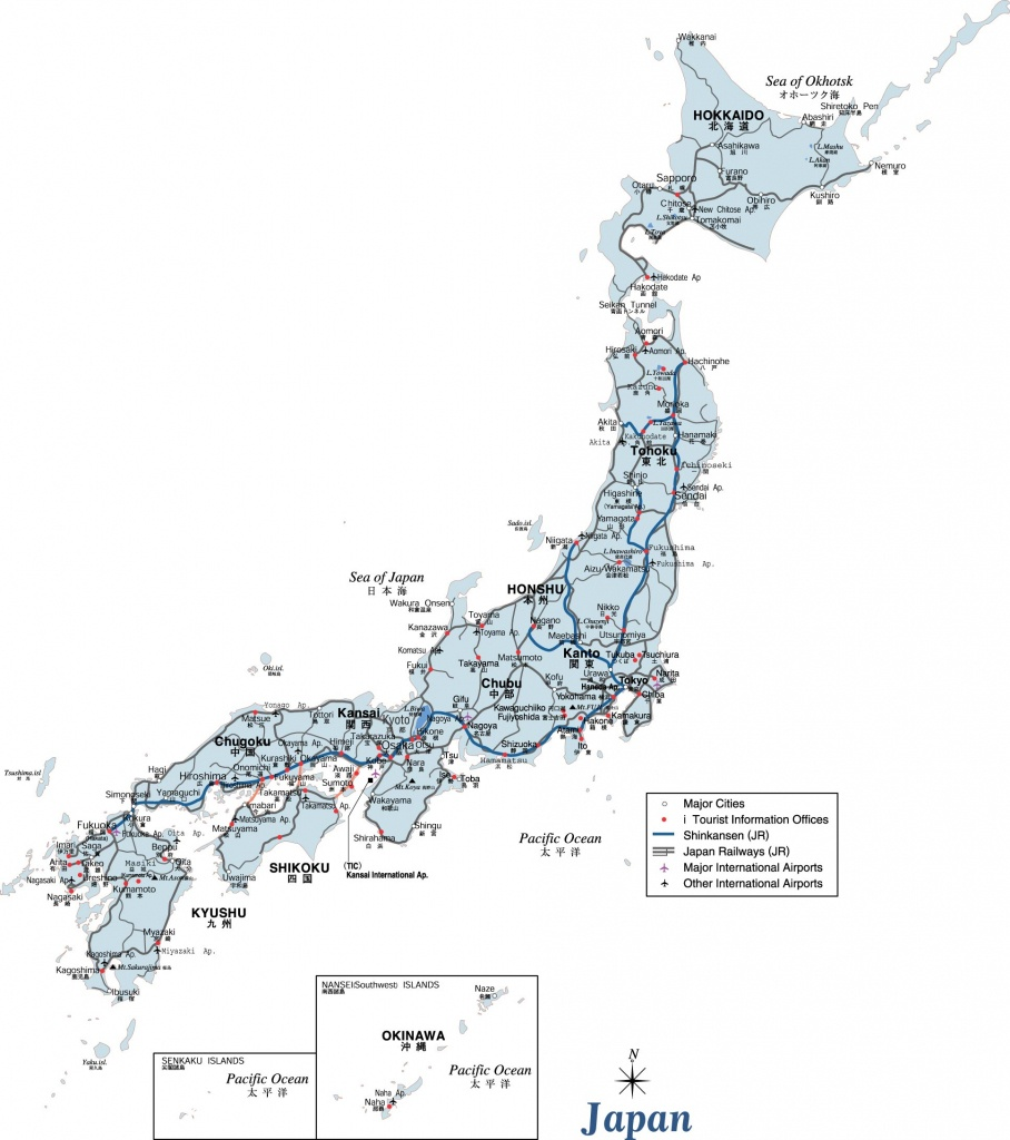 Japan Maps | Printable Maps Of Japan For Download - Printable Map Of Japan