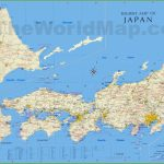 Japan Tourist Map   Large Printable Map Of Japan