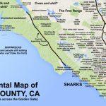 Judgmental Maps — Marin County, Caken P. Copr. 2016 Ken P. All   Marin County California Map