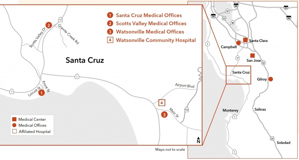 Kaiser Permanente® | Uc Santa Cruz | University Of California For - Kaiser Permanente Locations In California Map