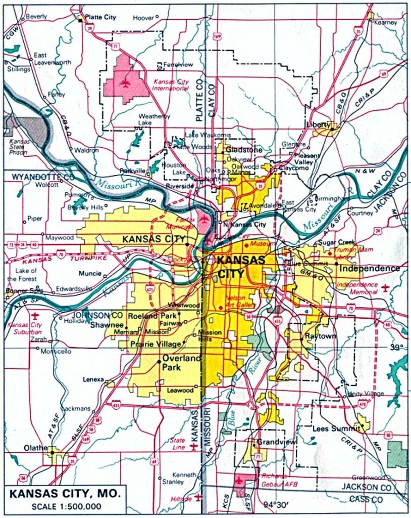 Kansas Maps - Perry-Castañeda Map Collection - Ut Library Online - Printable Street Map Of Wichita Ks
