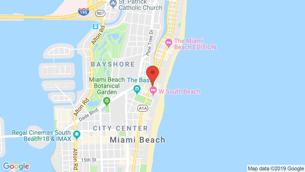 Kaskade At 1 Hotel South Beach - Mar 22, 2018 - Miami Beach, Fl - South Beach Florida Map